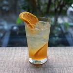 梟書茶房 - オレンジソーダ