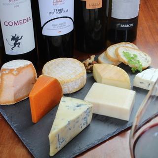 チーズの種類も豊富!なかなかお目にかかれないチーズも!?