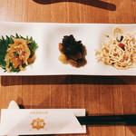 Chuugokuyakuzenryourishinfuu - 前菜の盛り合わせ