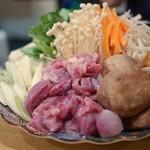 せら - 名古屋コーチン鍋