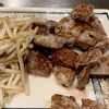 ステーキ ヨシノ - 料理写真:オージー牛130gサイコロステーキ