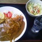 まいど食堂 - 料理写真:カツカレー
