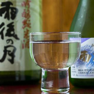 鉄板料理に合うドリンクをご提供♪広島地酒も各種ご用意。