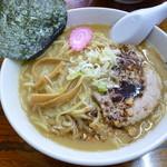 本気 - 厚切りチャーシューにんにく味噌ラーメン 2012.1.3
