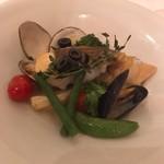 リストランテ アマルフィイ - 鯛を使ったアクアパッツァ