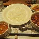 110341255 - 麻婆豆腐セット