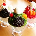 【サンロード夏の名物】かき氷3種
