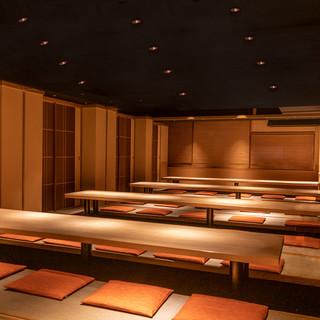 接待・会食・宴会・法事などに…全席完全個室のおもてなし