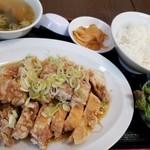 丸宝食堂 - ユーリンチィ定食