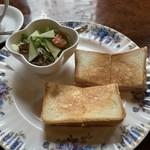 たかしまコーヒー店 - クロックムッシュサンド