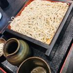 石挽蕎麦と炭串焼 一成 - 料理写真:せいろ蕎麦