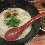 塩豚骨 らー麺 雄 - 料理写真:塩豚骨ラーメン 650円