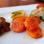 トラットリア・ダ・ルカ - どれもおいしいけど、ニンジンが好き!