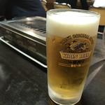 大東園 - 焼肉にはとりあえず生ビールでしょ?