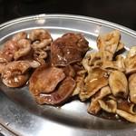 大東園 - ホルモン焼、タン焼、子袋焼
