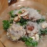 ルペール - マッシュルームと松の実のサラダ