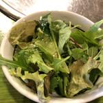 草家 - サラダ。