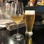 Bar Smoke - ビールと白