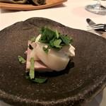 Cuisine Franco-japonaise Matsushima - 自家製ハム 蕪 フロマージュブラン