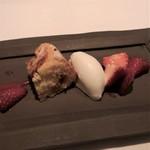Cuisine Franco-japonaise Matsushima - 神戸イチゴのヨードグップスカーカ