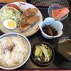 大剛 - 料理写真:日替りランチ 国産豚ロースの野菜巻き