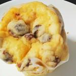 ハースブラウン - 料理写真:ラムレーズンケーキパン