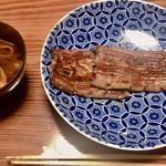 Yamanochaya - 蒲焼と赤出汁