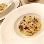 Restaurant LE MiDi - 鯖の燻製の筍の焼リゾット