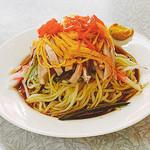 宝明楼 - 冷麺 ¥750 冷やし中華