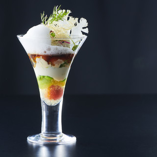 野菜ソムリエだからこそ引き出せる季節の味わい