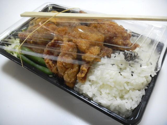 ふじや からあげ店 本店 - 弁当 大盛 和風 650円
