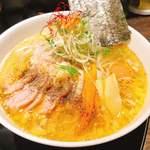 110383546 - 味玉白鶏麺 大盛り