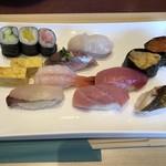 鮨神谷 - 料理写真:大将おまかせにぎり (お椀付) 2,000円(税抜)