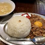立川マシマシ - 飯量は525g(普通盛は350g)