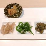 割烹 大田川 - 前菜