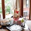 レ・ザンジュ - 料理写真:パフェフリュイルージュ