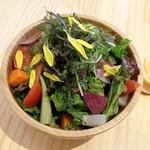 110394694 - 野菜たっぷりデトックスサラダ(750円)