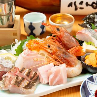 【魚】長浜鮮魚卸直営店ならではの鮮度!特上刺身盛合せは美味!