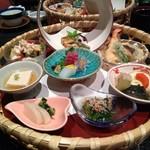 日本料理 雅 - 料理写真:1日10食限定の紫陽花御膳・1400円(税込)