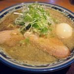 麺屋 八海山 - 料理写真:【味玉入煮干そば】¥950
