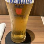 ふるはうす - 安定の生ビール