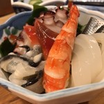 甚六鮨 - 酢の物の盛り合わせ