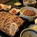 1104749 - もりと和風カレー丼セット(おーろらセット)