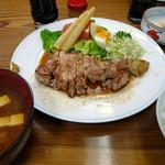 ぽん太 - ロースソテー定食