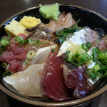 丼 万次郎 - 字魚丼あっぷ