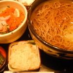 そじ坊 - 甘エビとびこ丼定食:850円
