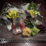 九州 熱中屋 - 豊後鯖の刺身