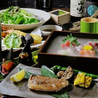 コース料理は3,000円~ご用意!