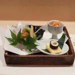 鮨 さわ田 - 前菜☆