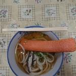 宮川製麺所 - うどん(小)とえび天